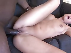 Real Sex Tape Milf Interviews for Interracial Porn Job money