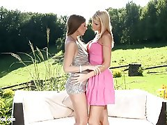 Morgan and Nela eating eachother out as lesbians - SapphiX