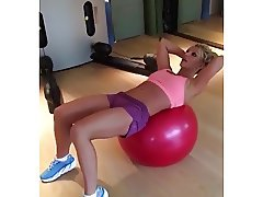 Britney Spears 06 26 17 Gym
