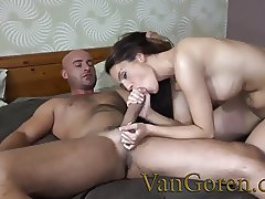 big boobs young slut fucking big white cock