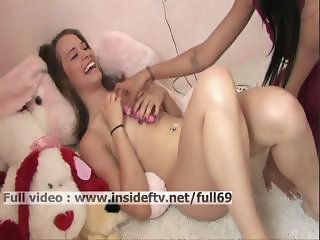 Denise _ Really shy amateur babe masturbating her pussy with a vibrator