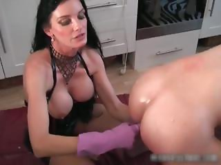 Boobies Carmen in great dirty bdsm part3