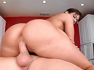 Bit titted four eyed teacher kitty gets cunt pounded - 56 part 10