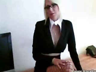 Creampie Blonde Teacher Big Tits