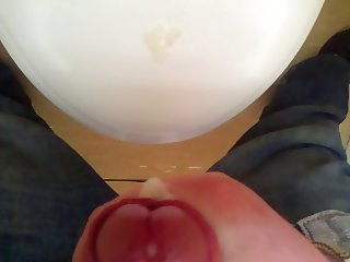 Cumming in the toilet at work