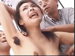 Hairy Japanese Lady Gets the Bus Ride of Her Life