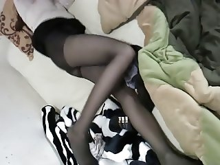 Korean pantyhose fuck