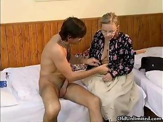 Nasty mature woman getting part3