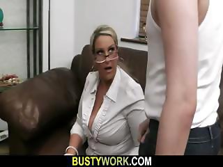 BBW spreads legs for big dick