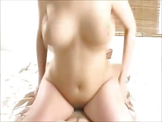 hot natural big boobs girl fucked on homemade