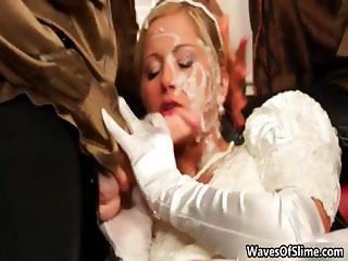 Super sexy blonde babe gets her cute part5
