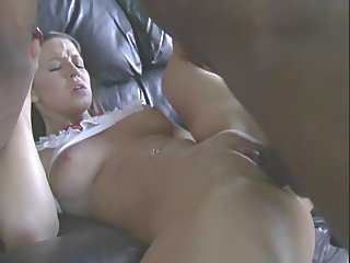 Interracial Video Pop that pussy