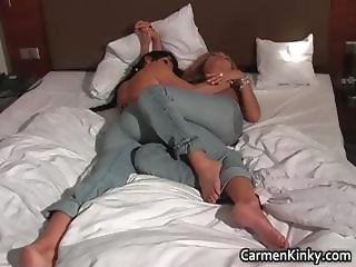 Dirty Carmen having pleasure with some part4