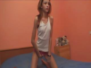 brutally slim angel stripping for a cam