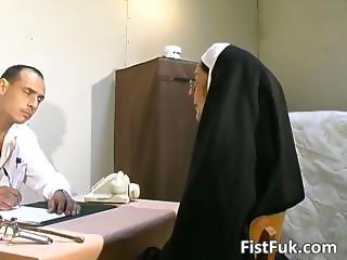 These two dirty doctors stuff nun sexy part6