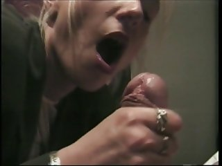German short 2: Jerking off a huge cock