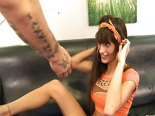Horny Lia M loves a rough fucking