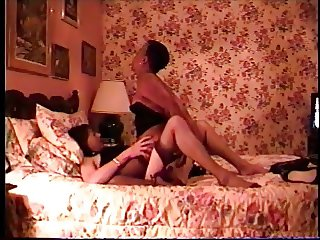 White crossdresser fucks Black cuckold's wife