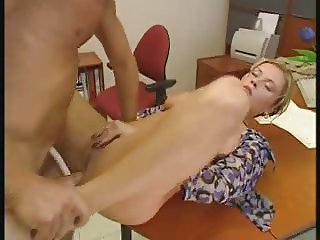 anal pump in office krystal de Boor