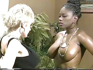 Ebony ayes amp danni ashe go breasts2breasts - 2 part 7