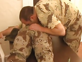 Sergeant Dad and his Soldier