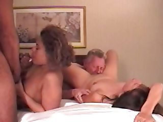 Two couples at swingfest-final part