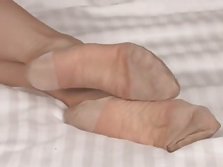 Amazing nylon feet