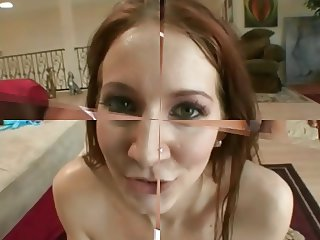 sperm swallow compilation