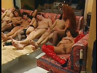 French Classic Orgy 90s