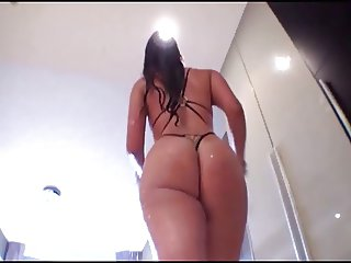 Freaky Latin Chick Nailed By BBC