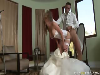 Cheating Bride Honey West fucks the best man