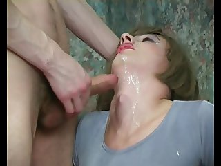 Tall and slender boy became a real whore