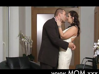 Big breast MILF romantic love making