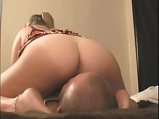 Hot Big Booty Blonde Facesitting With Farts