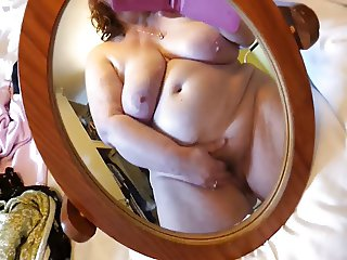 horny housewife cumming with you