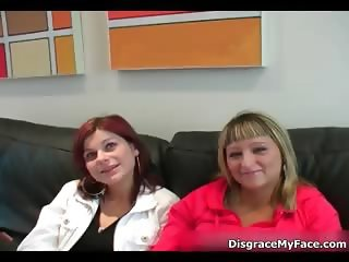 Two horny girls getting ready part4