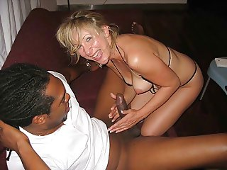 Hot MILF wife with BBC Compilation - A Housewifes Dream