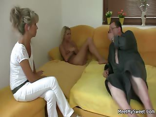 Ops, he just found me riding his dad's cock