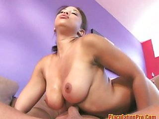 Hot babe fucked from behind