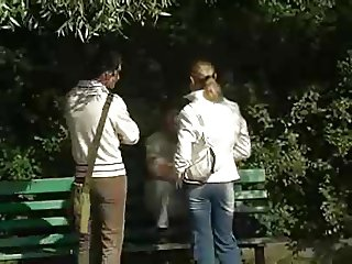 Young Blonde Wife Does 2 Dudes