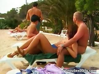 Hot group sex orgy with some horny sluts part5