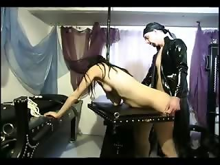 Slave girl gets banged by her master