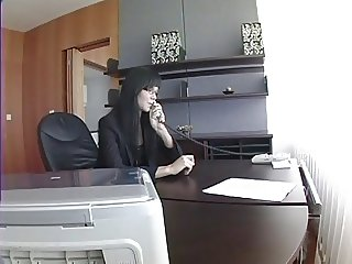 Assistant strips and fucking boss