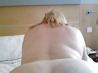 Hotel fun with mature BBW