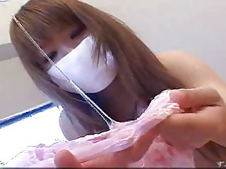 Japanese masked girl