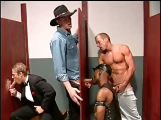 Muscled gay stud blows stiff rod part6