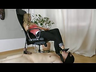 High Heel Licking with CBT