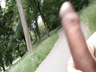 Public Dickflash and wanking - 04 - Dick Flashing