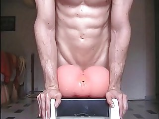 Sexy French and his doggy darling sextoy, vidz 2