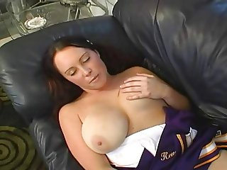 Big Tit Chubby Cheerlader Rachel Loves Her Creampie